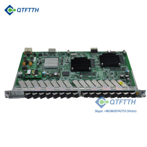 Brand New ZTE GPON 16 Ports Service Board Business PON Card GTGH with 16pcs SFP C+/C++ Modules for OLT C300 C320