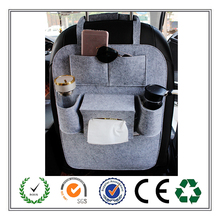 Multi-function custom felt car seat back organizer of best quality