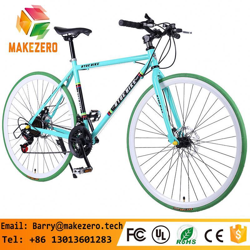 Fixed Gear Bicycle Bike For Men Women Bicycle 26 Inch Adult Sports Road Bikes 700C Single Speed Fixed Gear Bikes