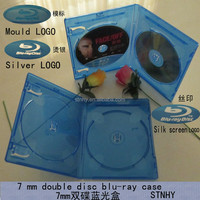 blue dvd case 7mm