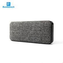 High-end 2*3W outdoor bluetooth speaker waterproof with power bank and NFC function-RS600