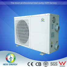 China top manufacturer air source swimming pool heat pump 4.5Kw to 21 kw