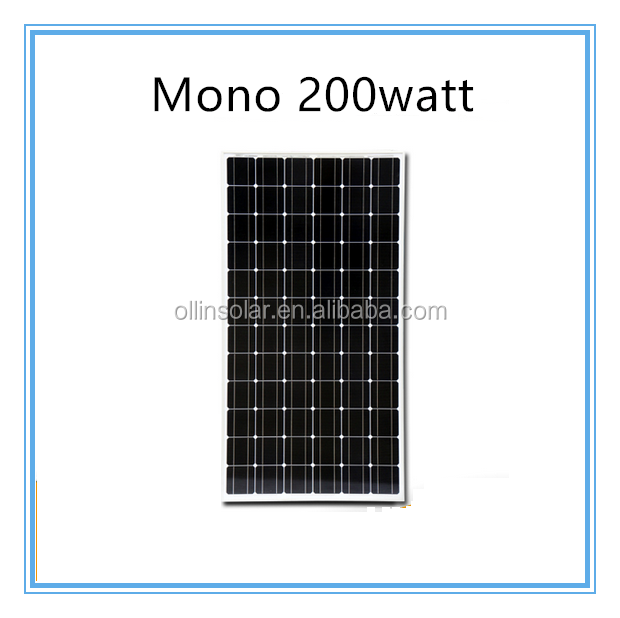 200W mono pv solar module made in china China best PV supplier poly 310w 320w 360 watt solar panels for industry