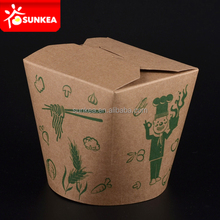 Chinese restaurant paper packaging food container, noodle box