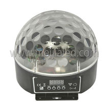 hot sale 3*4/6w RGB or RGBW LED Magic led disco ball light 12v