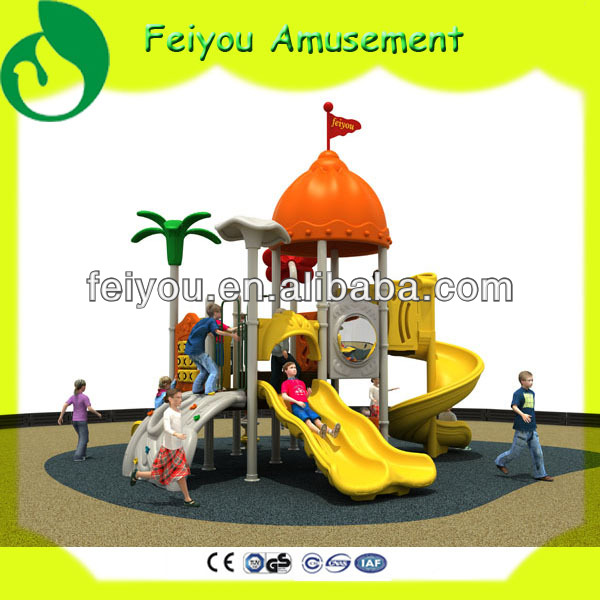 Kiddie entertainment equipment used amusement park equipment outdoor padding for playgrounds