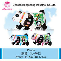 New design high quality animal panda balloon