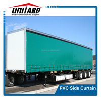 Heavy Duty PVC Side Door Curtains For Truck/Cars