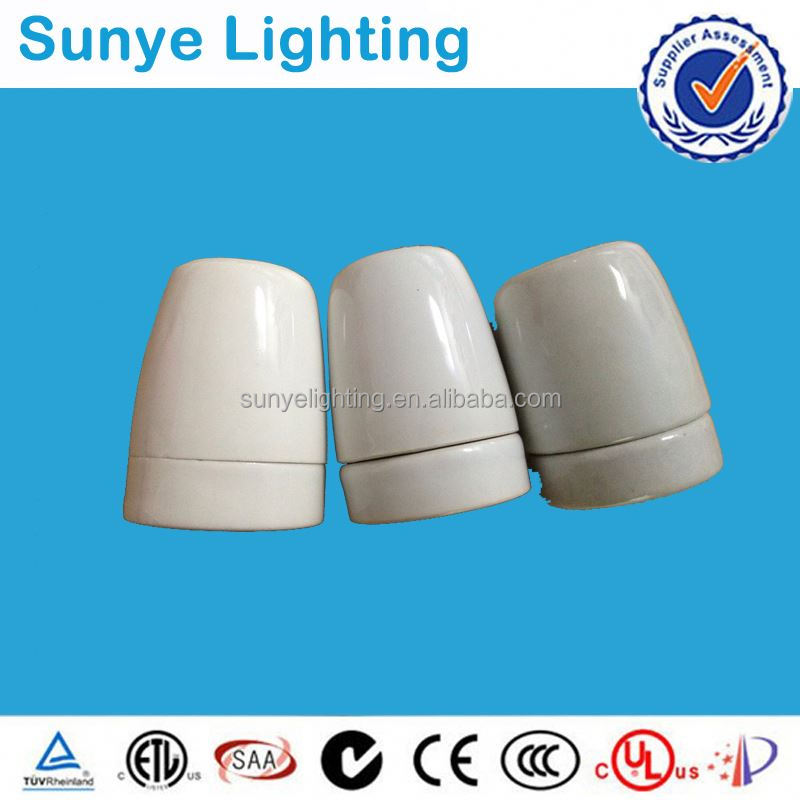 CE, VDE,SAA, RoHS, E27 Light Socket ,Bulb holder,led ceramic lamp cap