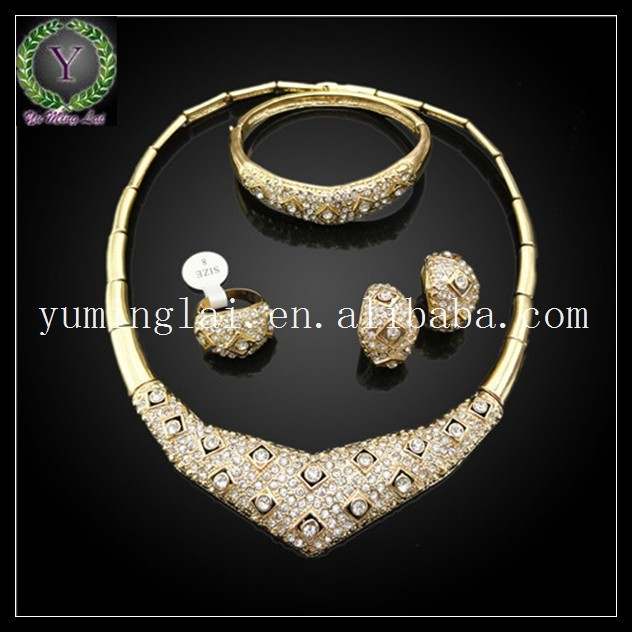 crystal beads 22k gold jewellery dubai gifts ,wholesale gold jewelry ,jewelry gold