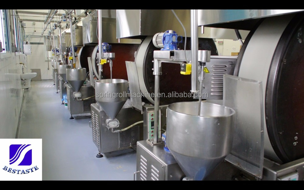 spring roll wrapper making machine/Samosa pastry making machine/high Capacity spring roll machine