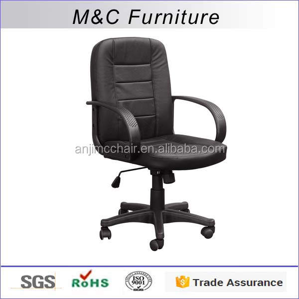 M&C Cheap pvc material midem back malaysia office chair made in China