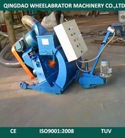 Clean Up The Tunnel Pavement Shot Blasting Machine