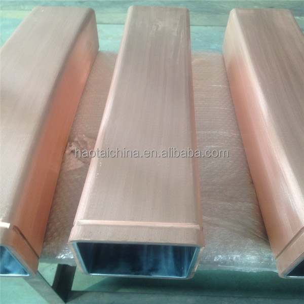 mould copper tube drawing for 30t induction furnace continuous casting machine