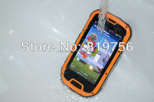 Most fashionable mobile phone external antenna S09 rugged waterproof IP68 NFC Walkie-talkie