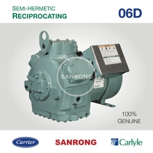 06DF537 Carlyle Semi-Hermetic Compressor, Carrier Air Conditioner Compressor, 06D 06DF AC Reciprocating Compressor