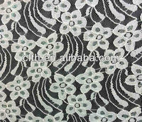 Colorful flower bright nylon lace fabric bulk lace fabric