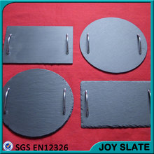 slate black cheese pizza fruit serving tray