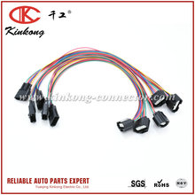 Kinkong Products Electronice Motorcycle Wiring Harness with 6 pin 7 pin connector