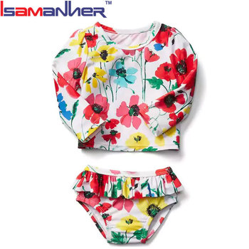 Fashion baby little girl swimwear kids swimsuit factory