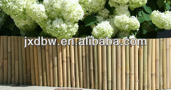 Decorative Bamboo Garden Border Fence