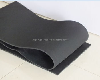 1mm thickness black color 0.6-2m width EPDM material waterproof rubber sheet by rotocure