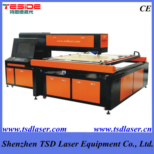 Carton box die plate laser cutting machine for die plate making, wooden punch die plate production