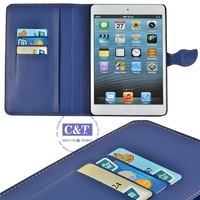 2014 New Charming design High quality transparent color plastic hard case for ipad mini
