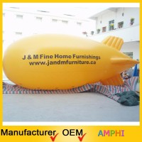 2015 newest design inflatable remote control advertising blimp/inflatable air blimp balloon