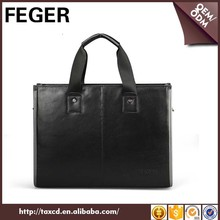 Alibaba China Promotion Genuine Cow Leather Design Men Handbag Manufacturers