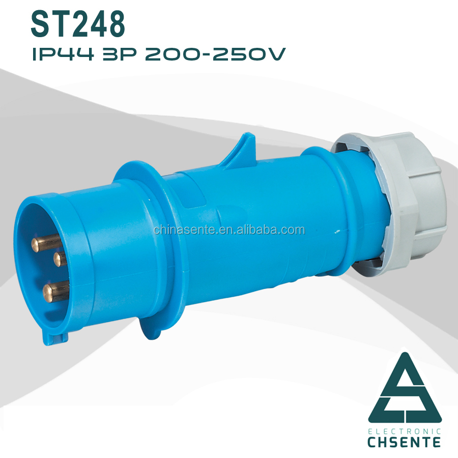High Quality 4Pin Secure Electrical Plug 32 Apms industrial socket