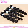 Grade 7a Virgin Hair Weft Brazilian Grey Remy Human Hair Loose Wave Weave