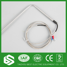 Customized fast k type thermocouple in temperature measuring