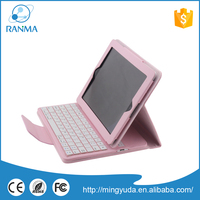 Tablet pc 9.7 inch waterproof pc leather keyboard cases for ipad 2/3/4