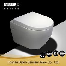 China new toilet manufacturers wall hung two piece toilet with simple design