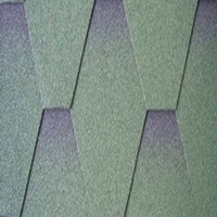 Colorful Asphalt roof shingles made in China with factory price