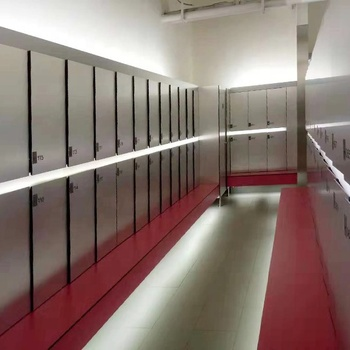 Debo factory directly sales good Price compact laminate Steel Cabinet Metal finished Locker With  Electronic locks