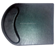 Wholesale plane wonderful genuine leather mouse pad