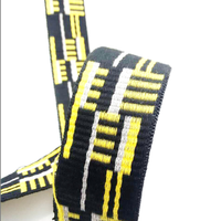 High quality 100% polyester jacquard tape/webbing/woven tape