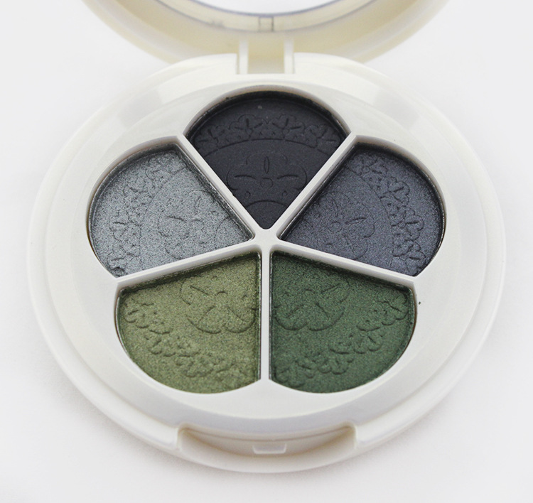 5 color mineral glitter eye shadow makeup powder,bare mineral pigment eye shadow