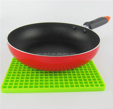 Silicone Heat Resistant Coasters Cup Insulation Mat, Tableware Insulation Pad Potholders Insulation Non-slip Mat