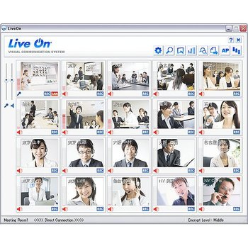 "Partners wanted : ""LiveOn"" Web-based internet Video Conferencing System. Support iOS & Android tablets, Windows PC."