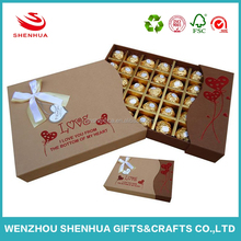 Beauty decorative empty chocolate gift box