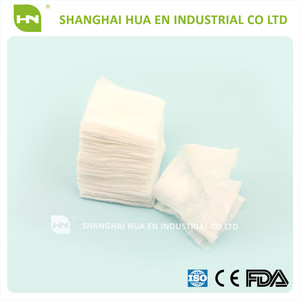 Ce,Fda,Iso13485 Approved Medical X-ray Detectable Cotton Gauze Swab/sponge