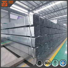 EN 10210 gi shs and rhs welded steel tube, galvanized rectangular tube, galvanized rhs
