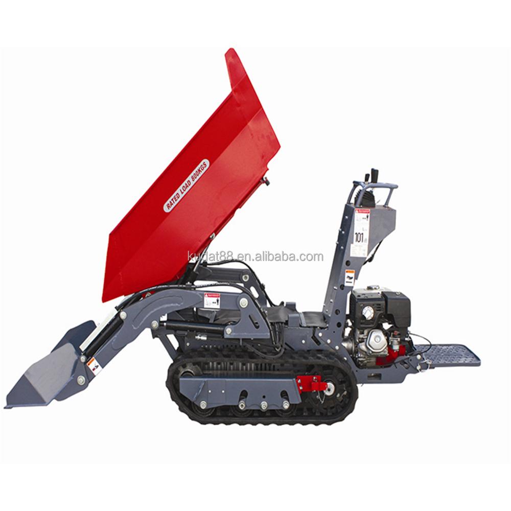 800kgs tracked honda power barrow with ce buy 800kgs for Honda gx390 oil capacity