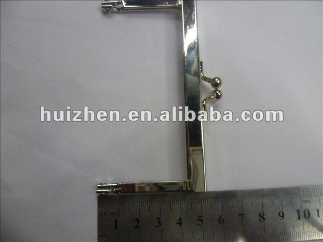 Metal silver case clasps lock bag locks and clasps