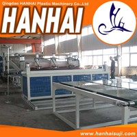 Hot selling plastic sheet machine for wholesales