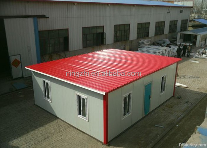 well-designed prefabricated house/ economic living house