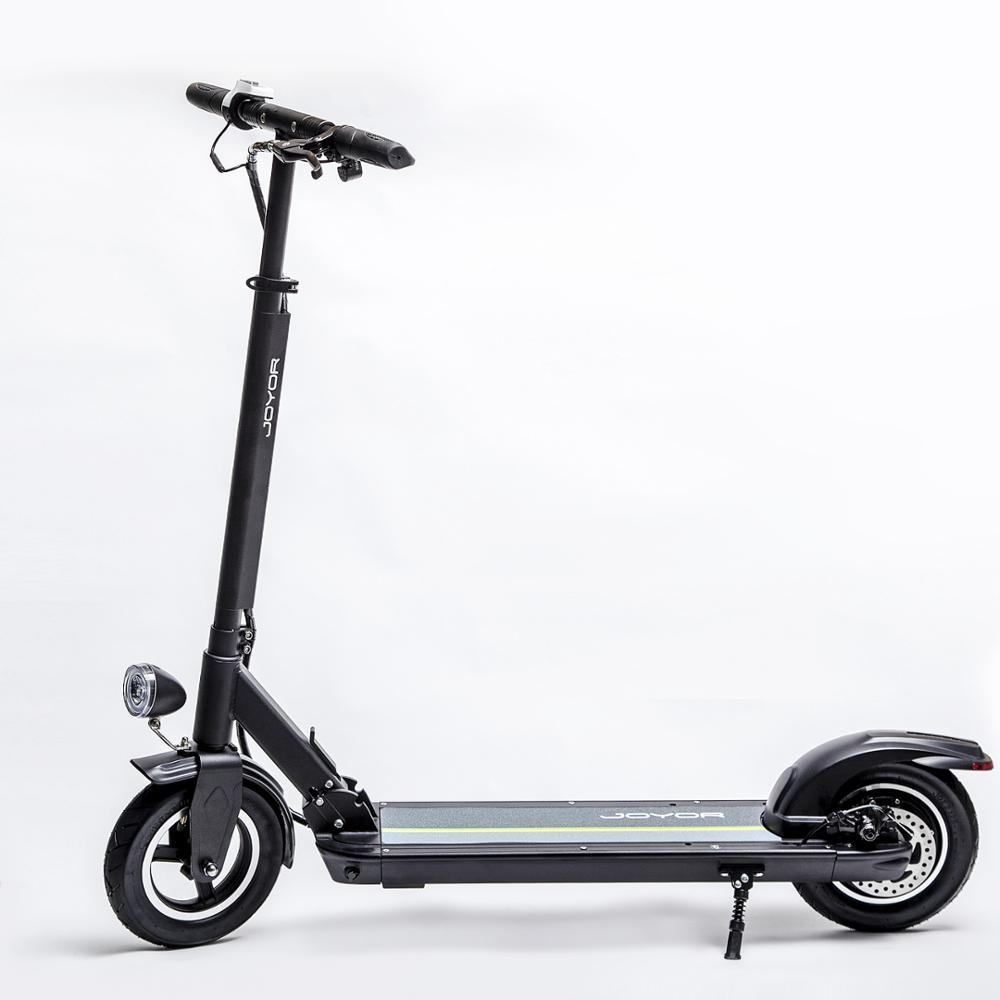 JOYOR 2018 trending products foldable electric scooter 350 watt 10 inch 2 wheel kick e scooter price china